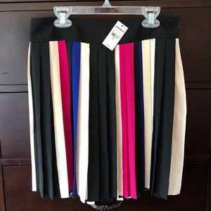 Express: Colorful Flowy Skirt (NWT)